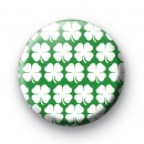 Shamrock Patten Button Badges