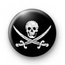 Skull & Cross Swords Badges