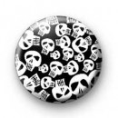 Skulls galore pin badges