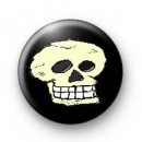 Smiling Cartoon Skull Badges