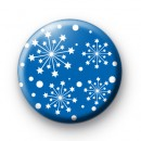 Blue Snowflake Star Badges