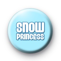 Blue Snow Princess Badge
