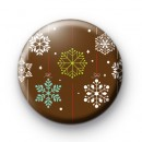 Snow Snowy Flakes Badges