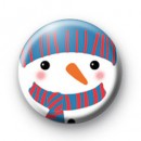Snowy The Snowman Badge