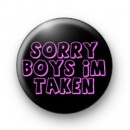 I'm Taken Badge