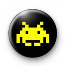 Space Invader (yellow) Badges