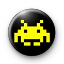 Space Invader (yellow) Badge
