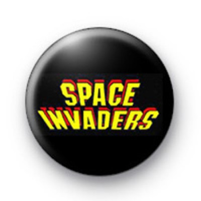 Space Invaders badges