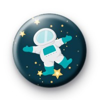Spaceman Button Badges