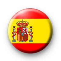 Spain Spanish Flag Badge