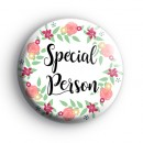 Special Person Badge 2