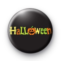 Spooky Halloween Letters badge