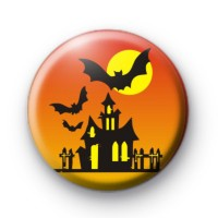 Halloween Scene Badge