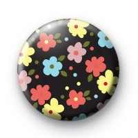 Spring Floral Pattern Badges