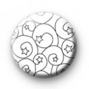 Swirly Stars Badges
