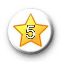 Custom Star Number Badge