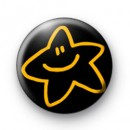 Yellow Smile Star badge