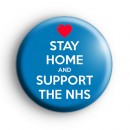 Stay Home and Support The NHS Badge