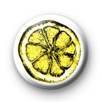 Stone Roses inspired Lemon Badge