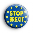 Stop Brexit Pro Europe Button Badge