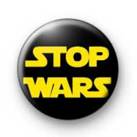 Stop Wars Badge badges