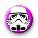 Storm Trooper Pink badge