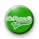 St Patrick's Day Green Badges