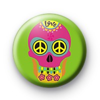 Sugar Skull 1 Badge