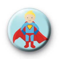 Superhero Comic Book Badge
