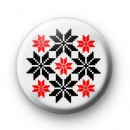 Swedish Snowflakes Badges