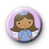 Sweet Purple Fairy Fun Badges