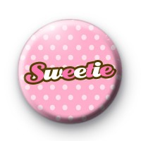 Pink Sweetie Button Badges