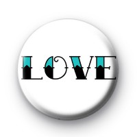 Old School Tattoo Love Font Badge