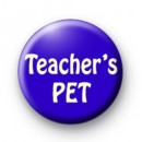 Teachers PET badge 2 badges