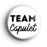 Romeo and Juliet Team Capulet Badge