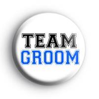 Team Groom Badge