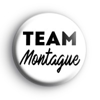 Romeo and Juliet Team Montague Badge