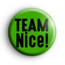 Team Nice Christmas Badge
