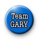 Team Gary X Factor Button Badges