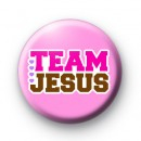 Team Jesus Button Badges