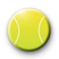Tennis Ball Badge