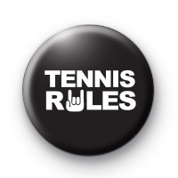 Tennis Rules Badge