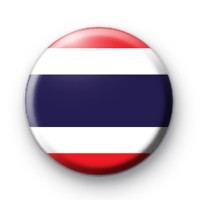 Thai Flag Button Badge