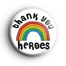 Thank You Heroes Rainbow Badge