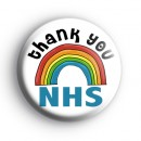 Thank You NHS Rainbow Badge