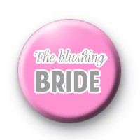 Pink and Grey The Blushing Bride badge