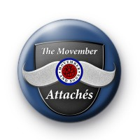 The Movember Attaches badge