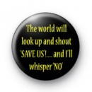 Rorschach Quote watchmen badge