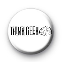 Think Geek Button Badge