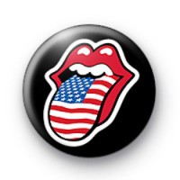 Tongue and Lips USA Badge